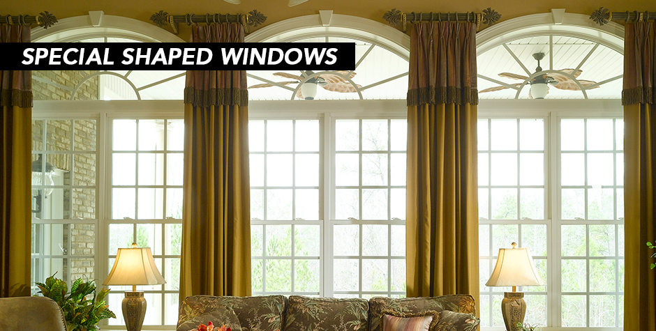 Special Shaped Window