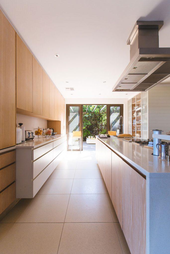 Kitchen With Beautiful Windows